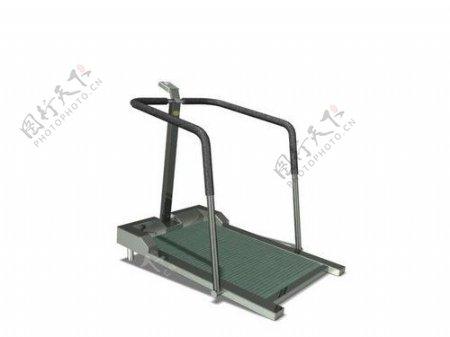 文化体育用品3d健身器材模型电器模型11