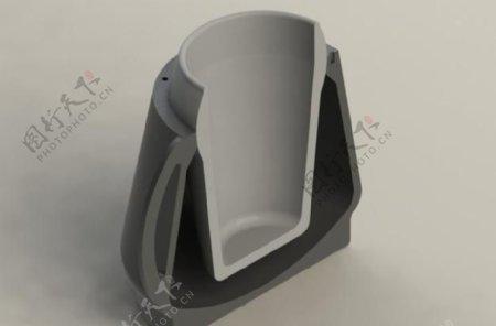 实验中的抗手震颤杯流体系列1设计