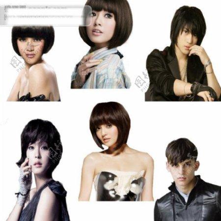 流行发型发型设计发型设计发型设计图发型图片发型发型图发型师发型宣传单