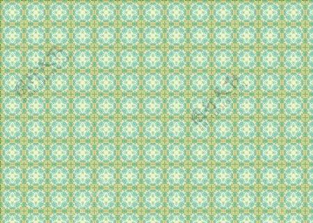 淡古铜蓝圆方形图案图片
