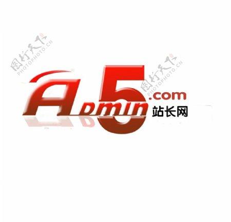 admin5站长网Logo标志图片