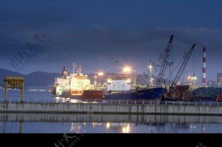 港口船舶图片