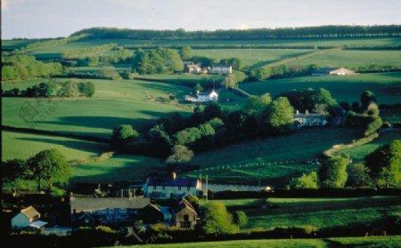 英国的草原风景图片