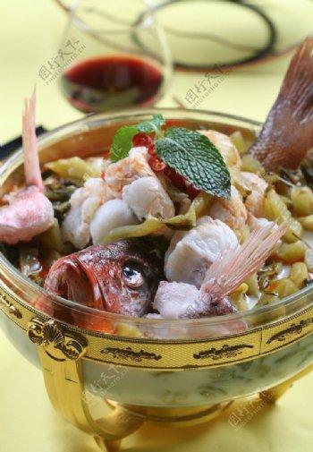 水煮酸菜鱼图片