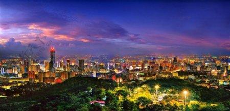 活力广东广州风景风景自然景观山水风景风景摄影图库广州夜景图片