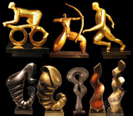 装饰雕塑图片