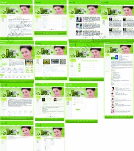 网站模板中文模板模板网站图片