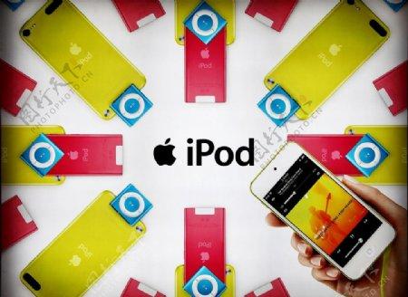 ipod广告画图片