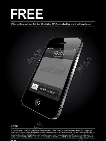 iPhone4手机图片
