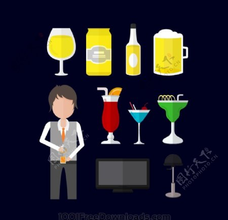 酒杯ICON