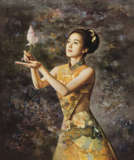 艺术人体油画