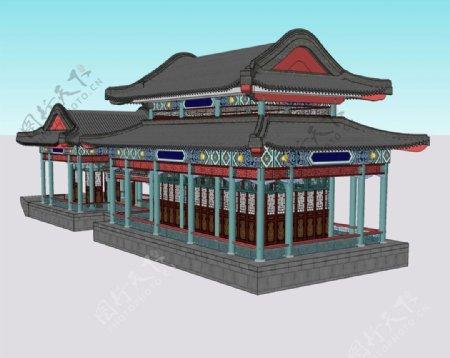 画舫3D模型