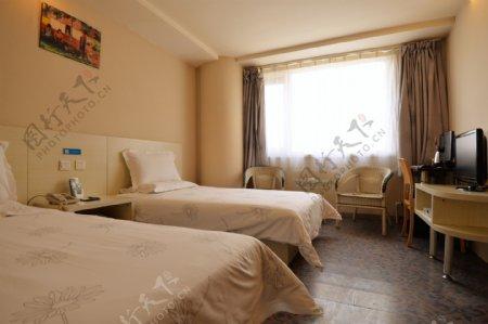 酒店客房标准间