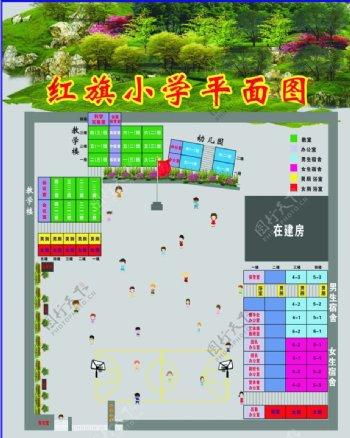 学校平面图