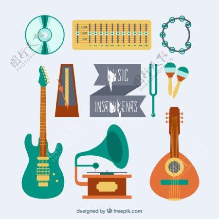 丰富多彩的音乐乐器收藏
