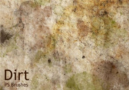 20种污垢纹理素材ABR笔刷高分辨率PS素材下载