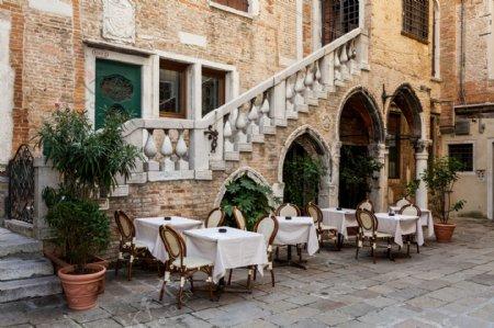 欧洲风格户外桌椅