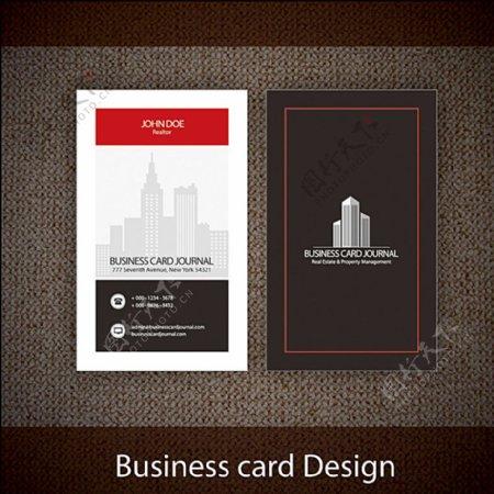 商业名片设计版型图片