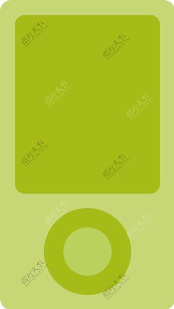 时髦的iPod图标