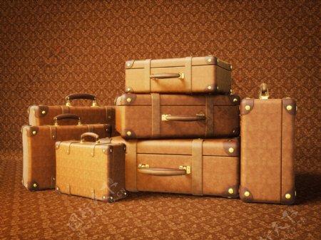 各种型号的旅行箱图片