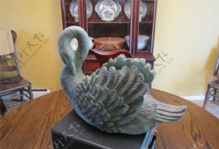 天鹅3D打印模型