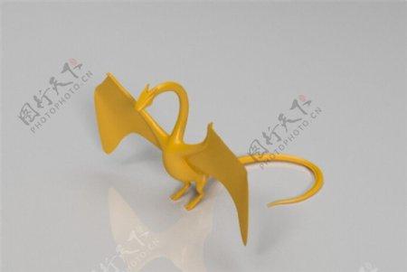 龙模型3D打印模型