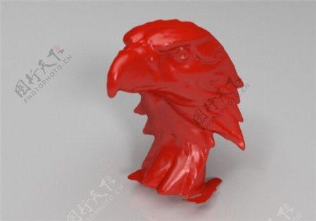 韦斯的鹰3D打印模型
