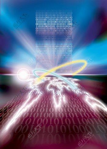 科技创意闪光地球图片模板下载意闪光地球科技之光现代科技其他设计图库72dpijpg