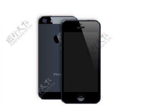 iPhone5矢量图片