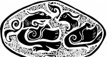 两宋时代版画装饰画矢量AI格式0838