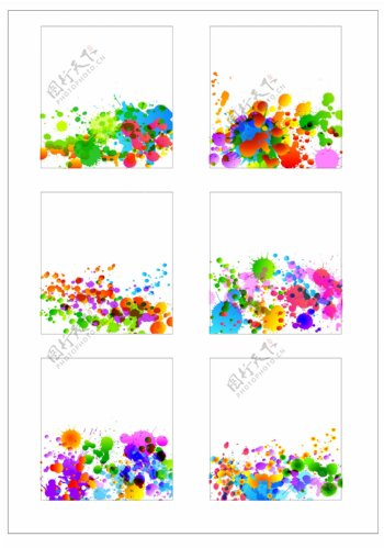 笔刷设计应用背景图案矢量素材AI格式0337
