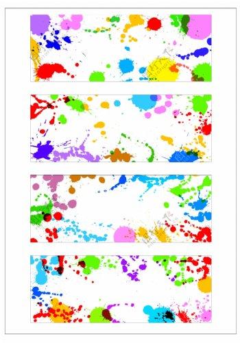 笔刷设计应用背景图案矢量素材AI格式0354