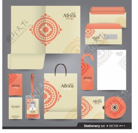 圆形LOGO企业创意文化vi素材