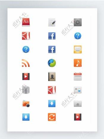 常用SVG矢量格式图标集app应用程