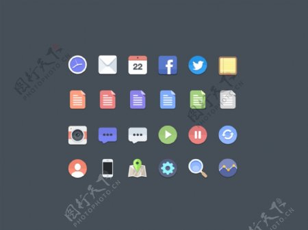 手机APP图标icons设计