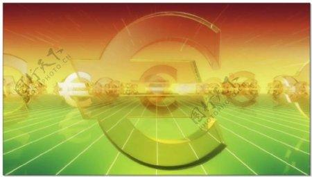 欧元货币符号视频素材