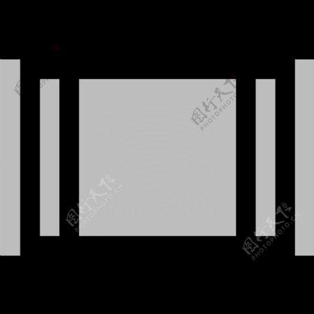 常用SVG矢量格式灰白小图标集