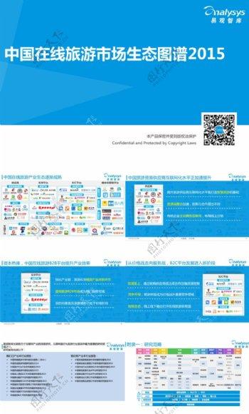 2015年中国在线旅游市场生态图谱分析报告