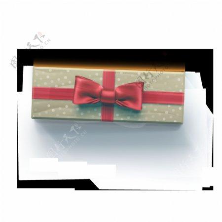 手绘时尚礼物盒装饰素材