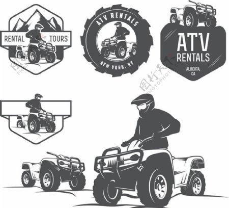 越野车商标图标