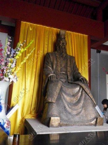 苏武庙塑像