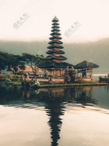 高塔建筑风景