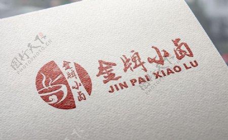 金牌小卤logo商标设计