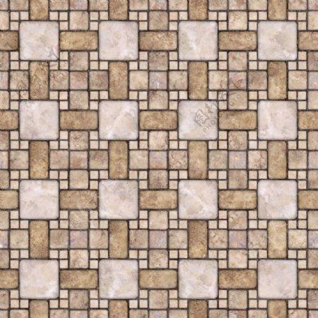 现代拼花瓷砖贴图