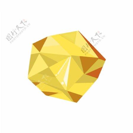钻石彩色宝石彩钻切割免扣