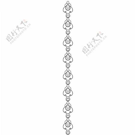 枫叶草木花纹装饰