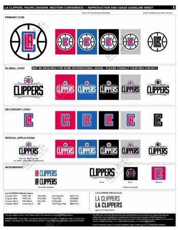 NBA洛杉矶快船logo
