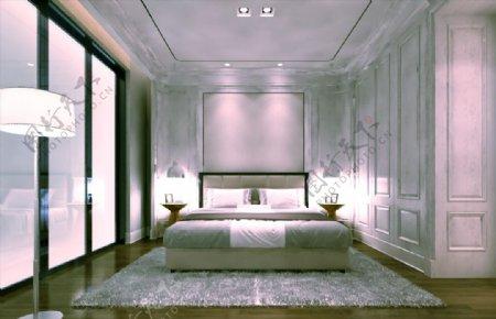 卧室效果图max