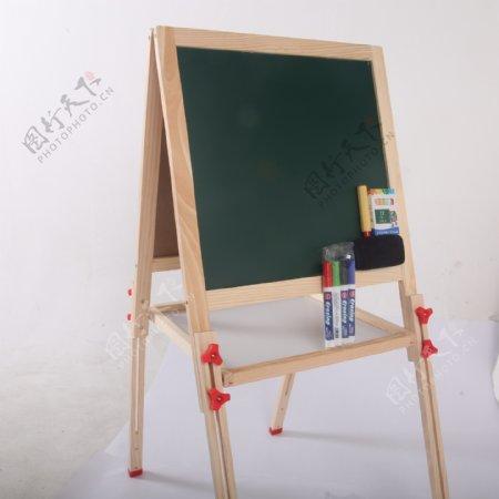 支架式儿童画画板磁性小黑板14