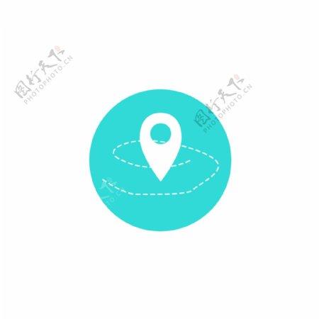 手机地图APP图标